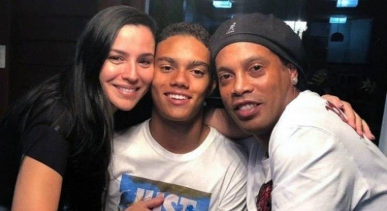 Janaína Mendes mãe do filho do Ronaldinho Gaúcho