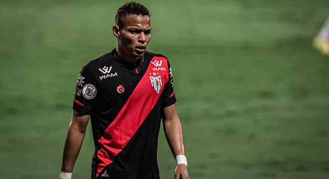 Janderson - 21 anos - Atlético-GO - Valor de mercado: € 2,3 milhões (R$ 14,69 milhões)