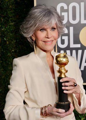 Jane Fonda no Globo de Ouro