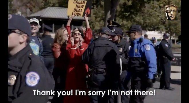 Diva: Jane Fonda aceita prêmio do BAFTA enquanto é presa em protesto