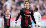 2 - Bayer Leverkusen (lucro de R$419,16 milhões) - Destaque para venda de Kai Havertz para Chelsea por R$ 523,95