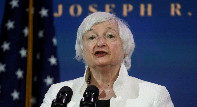 A primeira mulher secretária do Tesouro dos EUA, Janet Yellen