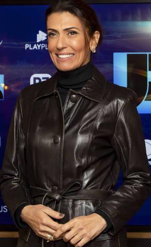 """Janine Borba, uma das apresentadoras do """"JR 24h"""""""