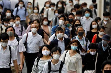 Japão tem recorde de novos casos de coronavírus