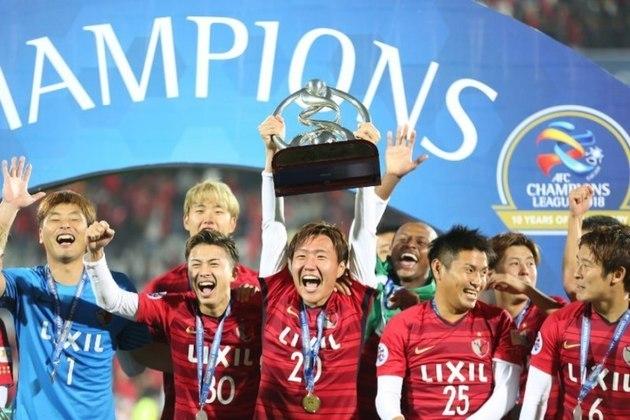 Japão - Kashima Antlers - 8 títulos