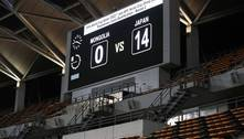 Japão faz 14 a 0 na Mongólia pelas Eliminatórias da Copa de 2022