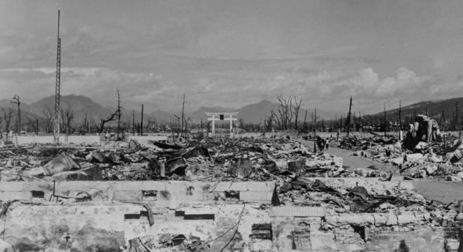 No dia 9 de agosto de 1945, Nagasaki foi atacada
