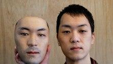 Japonês cria máscaras hiper-reais que não protegem contra covid-19