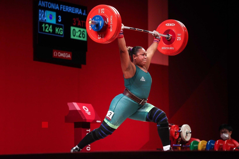 Jaqueline Ferreira não conseguiu entrar na briga por medalha