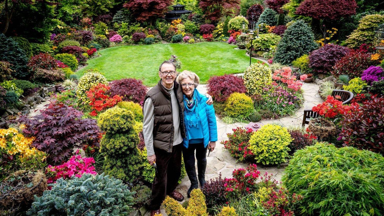 Tony e Marie têm um jardim com quase 3 mil espécies