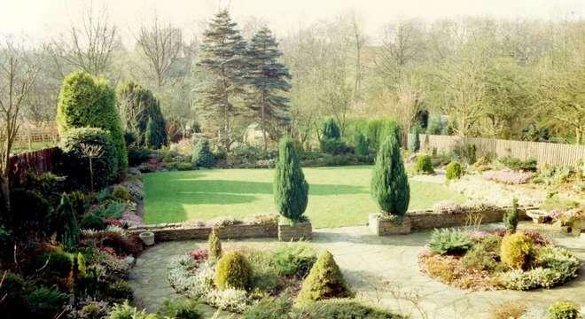O jardim como era nos anos 90