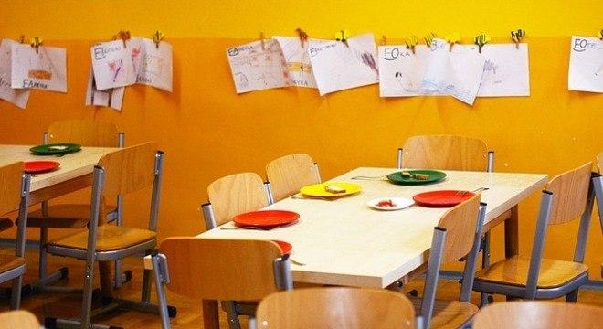 Separação se deu em sala com crianças de idades entre 5 e 6 anos