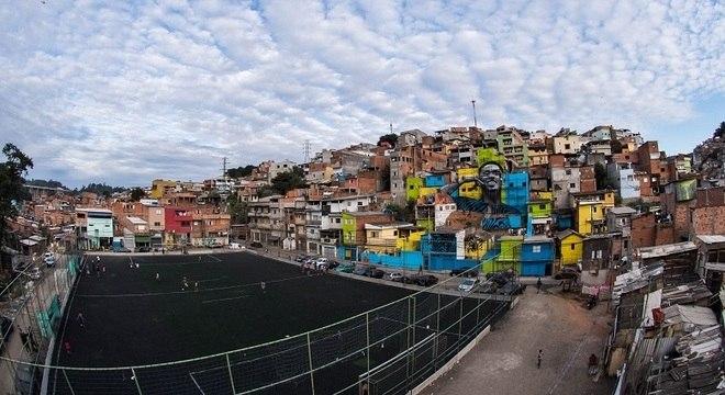 Atacante ganhou homenagem no Jardim Peri, o bairro onde nasceu e cresceu