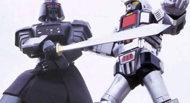 Duelo de robôs gigantes era uma das marcas de 'Jaspion'