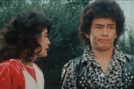 Jaspion e Anrí na série clássica japonesa
