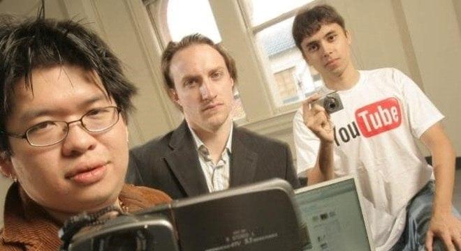 Steven Chen, Chad Hurley e Jawed Karim