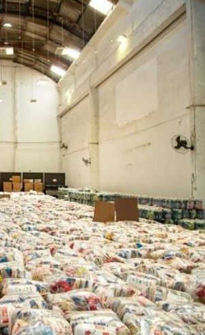 Alimentos para a comunidade da Maré