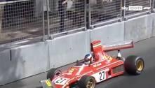 Ex-Fórmula1 bate carro histórico de Lauda em corrida em Mônaco
