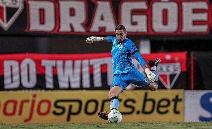 Jean: goleiro novamente vinculado ao São Paulo (estava no Atlético-GO)