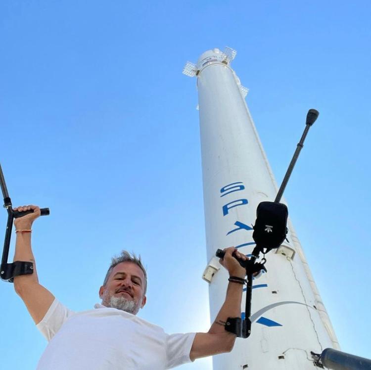 Maggi na sede da SpaceX, na Califórnia