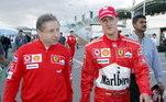 Os dois trabalharam juntos na Ferrari e o ex-piloto é como um filho para o dirigente. De acordo com o jornal inglês, Todt algumas vezes assiste corridas da Fórmula 1 quando se encontra com Schumacher