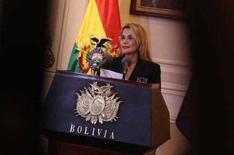 Presidente em exercício da Bolívia, Jeanine Áñez