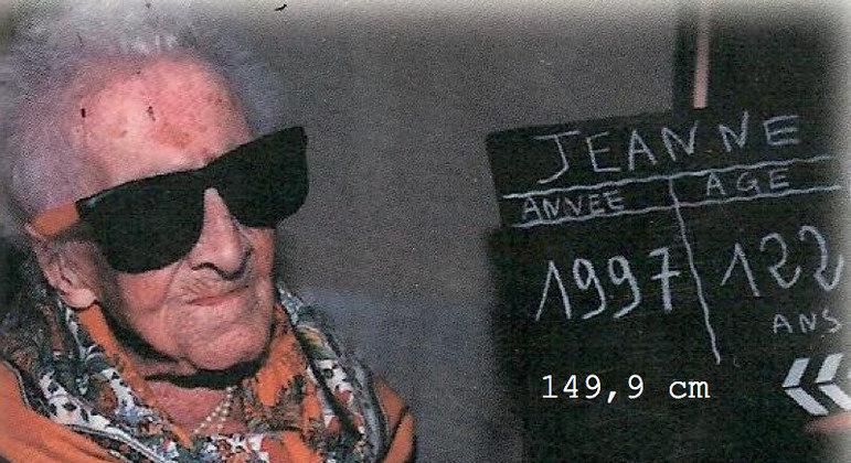 Jeanne Louise Calment morreu com 122 anos em 1997