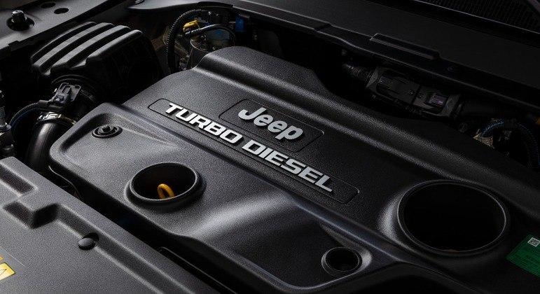 Motor Multijet tem 170cv e 38,7 kgfm de torque
