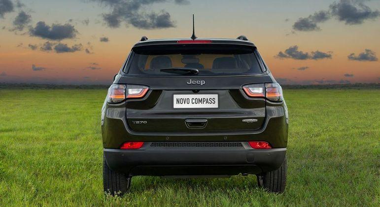 Jeep Compass Limited T270 Turbo Flex AT6 sai por R$ 176.990