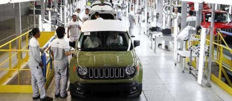 Fábrica da Jeep em Pernambuco, pioneira na fabricação do Compass brasileiro