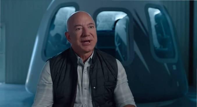 Voo espacial de Jeff Bezos terá 4 civis e nenhum piloto