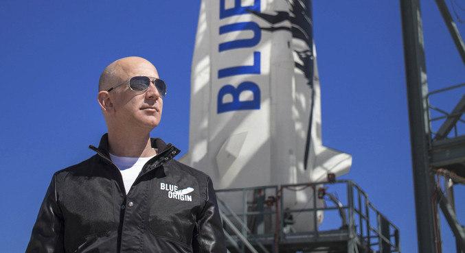 Bezos disse estar animado para viagem ao espaço