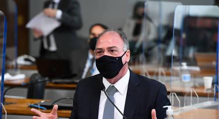Na imagem, senador Fernando Bezerra (MDB-PE)