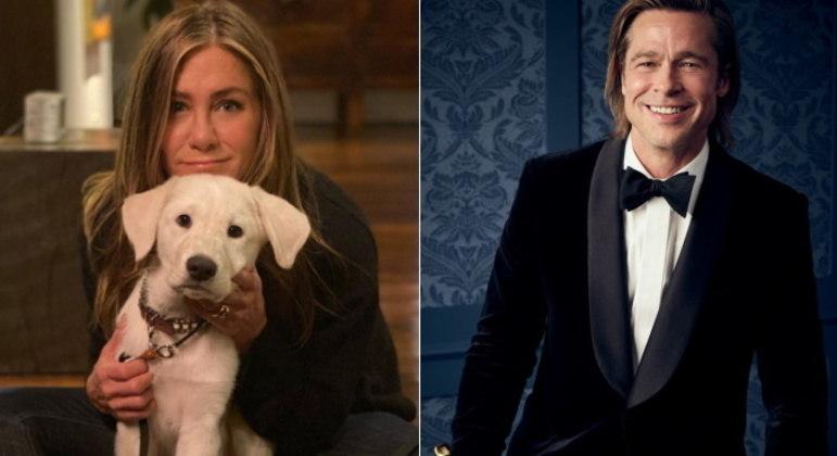 Jennifer Aniston e Brad PittCasados de 2000 até 2005, Jennifer Aniston e Brad Pitt teriam superado as diferenças após os 16 anos do divórcio. No ano passado, eles se reencontraram para um trabalho e, segundo Jennifer contou no programa de Howard Stern, não houve nenhum constrangimento: