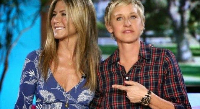 Jennifer Aniston e Ellen Degeneres