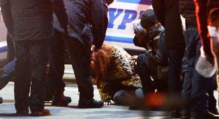Jennifer foi atingida por estilhaços de vidro