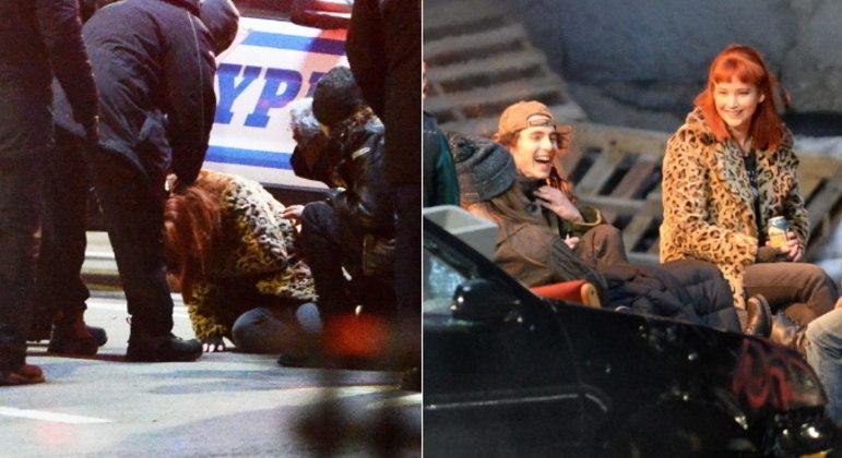 Jennifer LawrenceA atriz também sofreu um acidente durante as gravações do filme Don't Look Up. Em uma cena que envolvia uma janela se quebrando, a atriz foi atingida por estilhaços na região dos olhos. De acordo com o TMZ, pessoas que estavam no local revelaram que o ferimento não parava de sangrar e por isso ela foi retirada às pressas do set. Após ser atendida, ela retornou ao trabalho