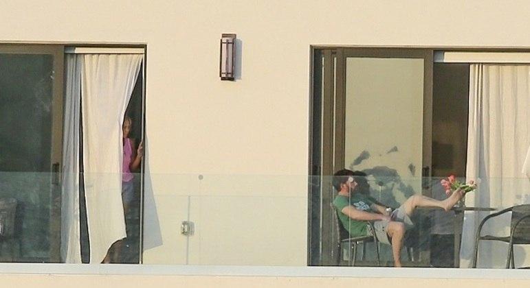 Ex-casal foi flagrado novamente e reacendeu os rumores de uma possível reconciliação