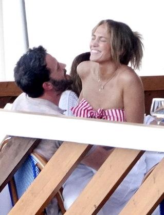 Jennifer Lopez e Ben Aflleck voltaram a ficaram juntos cerca de 17 anos após terminarem a relação