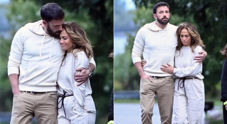 O casal Bennifer, como os fãs chamam, parece estar cada vez mais em clima de romance. Ben Affleck e Jennifer Lopez foram vistos abraçadinhos durante um passeio pelosHamptons,balneário de luxo no estado de Nova York, nos Estados Unidos