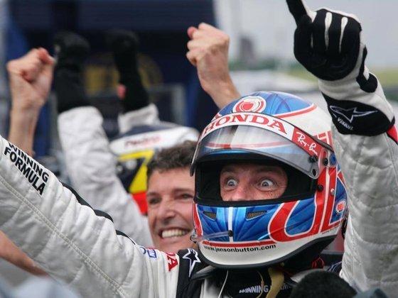 Jenson Button disputou 113 corridas até vencer o GP da Hungria de 2006