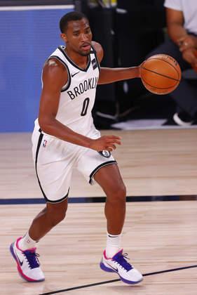 Jeremiah Martin (Brooklyn Nets) 4,5 - Foram apenas oito minutos, mas Martin anotou cinco pontos. Nada além disso