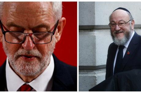 Rabino critica líder trabalhista por não conter antissemitismo