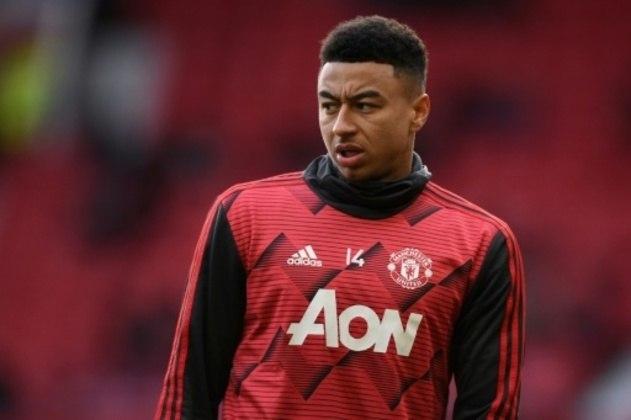 Jesse Lingard - 28 anos - Meia - Clube: Manchester United - Contrato até: 30/06/2022