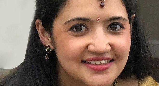 Jessica Patel foi encontrada sem vida na sala da casa onde o casal morava