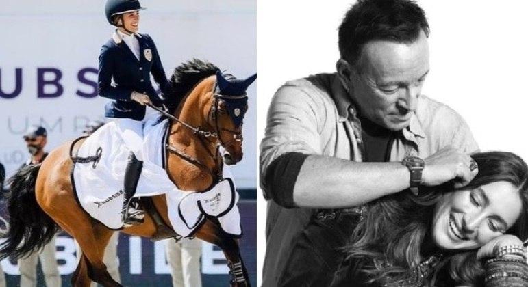 Jessica Springsteen, filha do cantor Bruce Springsteen, vai disputar os Jogos Olímpicos de Tóquio