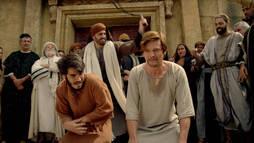 Nesta quarta (14/11): Natanael e Tiago Menor são chicoteados pelos sacerdotes ()