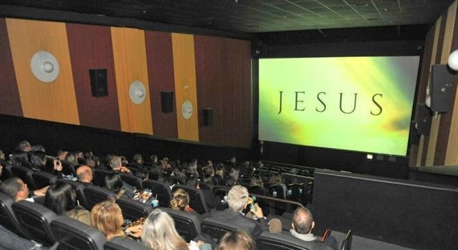 Novela da Record TV, Jesus, estreia em sala de cinema em Porto Alegre