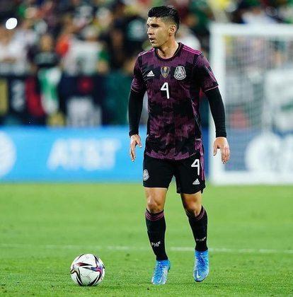 Jesús Angulo: 23 anos – lateral-esquerdo – Atlas Guadalajara (MEX) – Valor de mercado: 3,5 milhões de euros.