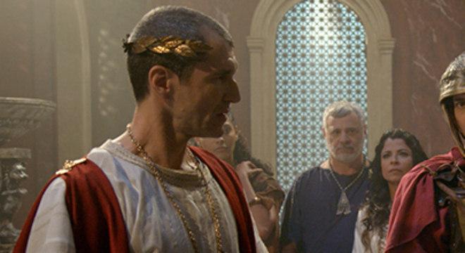 Pilatos entrega o prêmio da vitória de Shabaka para Susana